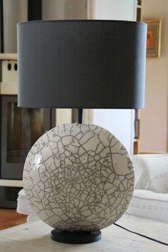 terre a terres pied de lampe lampes en c233ramique pinterest