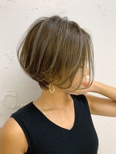 Short Hair Syles, Short Hair Cuts, Beauty Makeup, Hair Makeup, Hair Beauty, Japanese Hairstyle, Cute Cuts, Tips Belleza, Bridesmaid Hair