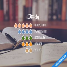 Study - Essential Oil Diffuser Blend