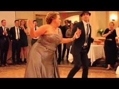 Best Mother & Son Wedding Dance. Mom kills the Watch Me Whip & Nae Nae Dance. #Cabello2K15 - YouTube
