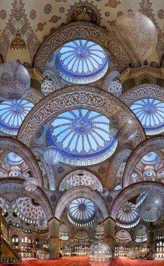 Blue Mosque.. Istanbul, Turkey