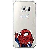 For Samsung Galaxy S7 Edge Transparent / Pattern Case Back Cover Case Cartoon Soft TPU SamsungS7 edge / S7 / S6 edge plus / S6 edge / S6 – CAD $ 5.55