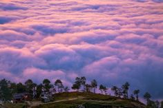 Nagarkot (Nepal) - a town in the clouds