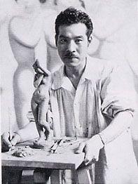 Japanese painter, KOJIMA Zensaburo (1893-1962)  児島善三郎