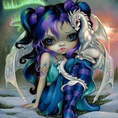 """2,559 Likes, 35 Comments - Jasmine Becket-Griffith (@strangeling) on Instagram: """"Having a great time at the DragonCon ART SHOW, open again today (Hyatt Regency Atlanta Grand Hall…"""""""