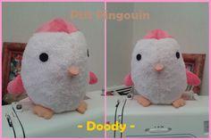 Peluche Pingouin (tordu, je sais ^^) - Patron DIY Fluffies [Etsy] (pas tordu, lui !)