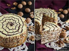 торт эстерхази как приготовить, торт эстерхази рецепт приготовления, торт эстерзахи из орехов