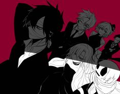 君が笑うまで Angel of Slaughter Fanart Ray, Zack, Danny, Eddie, Cathy, and Grey