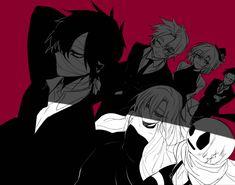 君が笑うまで Angel of Slaughter Fanart Ray, Zack, Danny, Eddie, Cathy, and Grey