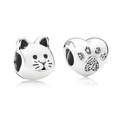 55216465a Pandora Cat Charm, Pandora Earring Charms, Pandora Necklace, Pandora Jewelry,  Cheap Pandora, Charmed, Nice, Jewelry Accessories, Valentine Day Gifts