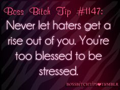 Too blessed to be stressed!!!