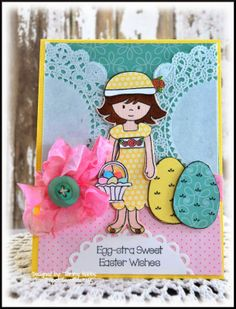 Egg-stra Sweet Easter Wishes designed by Tammy Hobbs @ Creating Somewhere Under The Sun
