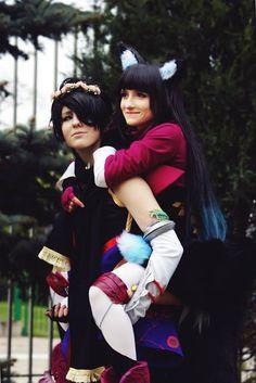 Nevra and Miiko from Eldarya Cosplay by Whatever cosplay photo by Dunii shion #Eldarya #cosplayclass #costume