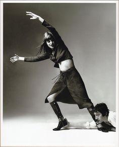 Serge Gainsbourg Jane Birkin VOGUE USA. Bert Stern.