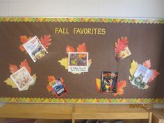 Fall bulletin board-reading