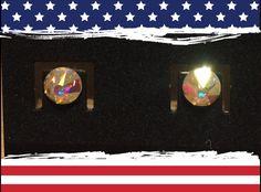 Swarovski - Crystal - Clear -Stud - Earrings -Women - Girls by YouveGotSparkle on Etsy