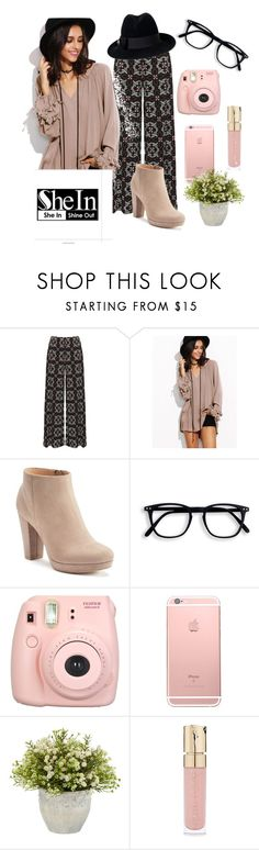 """""""Casual Nude Pink"""" by maris3456 ❤ liked on Polyvore featuring WearAll, LC Lauren Conrad, Fujifilm, Smith & Cult and Gucci"""