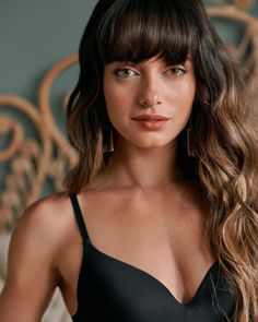 Mixed Race, Lingerie Models, Tumblr, Hairstyles With Bangs, Beauty Photography, Makeup Inspiration, Beauty Women, Actresses, Stock Photos