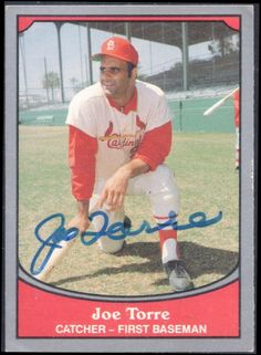 1990 Pacific Joe Torre autograph