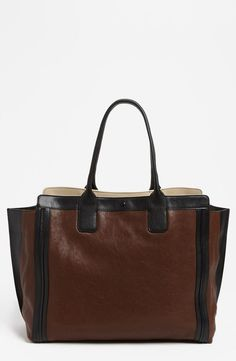 Gorgeous, classic Chloé tote. Need this!