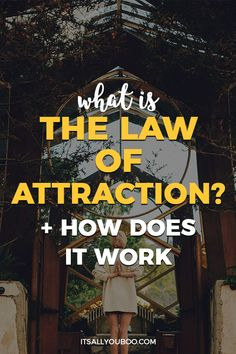 Do you wonder what the Law of Attraction is? Click here for your introduction to LOA, including affirmations, vision boards, and tips for manifesting money and love. It's more than just the Secret! #loa #affirmations #AbrahamHicks #lawofattraction #positivemindset #affirm #believe #manifestlove #manifestmoney #vibration #energy #positive #positivevibes #positivity #positivepeople #choosejoy #positivelife #mindset #mindsetiseverything #mindsetmatters #lawofvibration #yourvibeyourlife