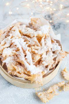 Faworki Cookie Desserts, Holiday Desserts, Polish Recipes, Polish Food, Pumpkin Cheesecake, Food Cakes, Cake Cookies, Bon Appetit, Cake Recipes