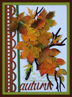 Dies R Us: Autumn - Falling Leaves