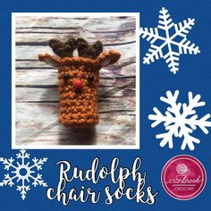 Crochet pattern for purchase Christmas Chair, Christmas Gifts, Half Double Crochet, Single Crochet, Stitch Patterns, Crochet Patterns, Crochet Ideas, Crochet Toys, Free Crochet