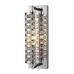 elk lighting crystallure 1 light bathroom lighting in polis - Bathroom Vanity Light