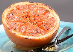 Broiled Grapefruit with Vanilla and Cardamom! Its a great picture of amazing food. We agree and think you might want to make it.  If you are looking to lose weight the safe, healthy and effective way, you have found the place at NutrivityWeightLoss.com!