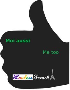 When you want to signal your agreement with what someone just said, use this go-to French expression. #french #learnfrench #lawlessfrench French Expressions, Idiomatic Expressions, French People, Teacher Boards, Meaningful Conversations, French Teacher, France, French Language, Learn French
