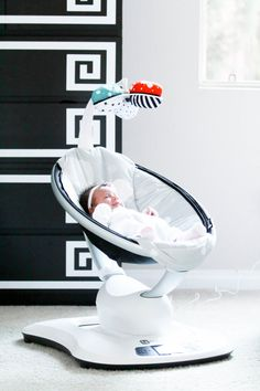 Baby Vienna's Nursery Tour and mamaRoo Giveaway (Closed)