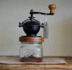 Fully Adjustable Conical Burr Coffee Grinder