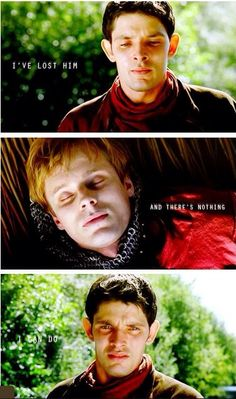 I'm still not over Merlin! <<< it's been 4 years and still not get over