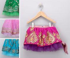 Sha Sha Kids tutu made from vintage sari fabric - so adorable! Purple Tutu, My Baby Girl, Girly Girl, Sassy Girl, Baby Girls, Bollywood Party, Fru Fru, Sari Fabric, Kid Outfits