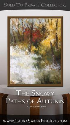 Recent Sold Artwork Original Artwork, Original Paintings, Fall Trees, Autumn Fall, Art Lessons, Paths, Abstract Art, Watercolor, Fine Art