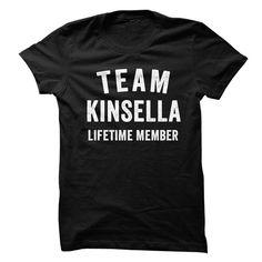 KINSELLA TEAM LIFETIME MEMBER FAMILY NAME LASTNAME T-SHIRT