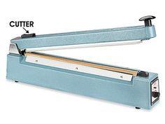16 Impulse Sealer with Cutter  #Uline #Kitchen
