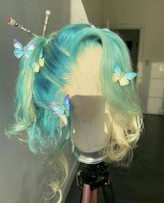Baddie Hairstyles, Pretty Hairstyles, Hairstyle Short, School Hairstyles, Prom Hairstyles, Kawaii Hairstyles, Braided Hairstyles, Curly Hair Styles, Natural Hair Styles