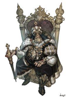ArtStation - The old king, jungmin jin /dospi