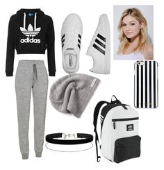 ADIDAS going to school by maryhassa-xo on Polyvore featuring polyvore, fashion, style, Topshop, Icebreaker, adidas, adidas Originals, Miss Selfridge, Converse, MICHAEL Michael Kors, Neutrogena and clothing