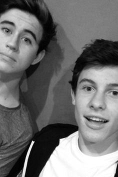 Shawn Mendes and Nash Grier