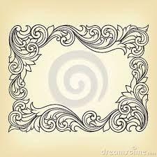 vintage frame pattern - Google zoeken