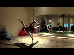 ▶ Pole combo-Butterfly, Flat Line Scorpio, Jasmine - YouTube