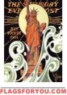 Statue of Liberty of July Art Poster Print by Joseph Christian Leyendecker. Read more at the link about this successful American artist and illustrator of more Saturday Evening Post covers than anyone else (even Norman Rockwell). Cover Art, Art Nouveau, Jc Leyendecker, Liberty Statue, Saturday Evening Post, American Illustration, Kunst Poster, Norman Rockwell, Illustrations