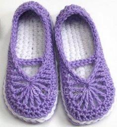 8 imágenes increíbles de zapatos   Crochet slippers, Crochet