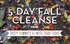 The 5 Day {gentle} Fall Cleanse   With Food + Love