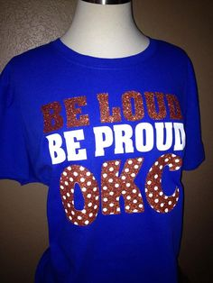Oklahoma City shirt OKC Thunder t-shirt. A must have for any Thuder fan!!
