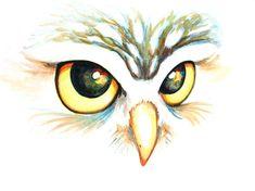 Art Painting Watercolor Nature Woodland Bird  by littlepaintshop, $19.95