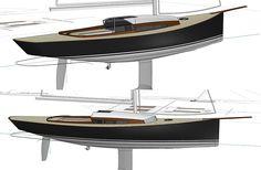 Un Bateau: Le Solenn 42.  Après les Solenn 23, 27' et 32', voici le nouveau Solenn 42'. Ce qui caractérise objectivement ce bateau, c'est ... sa taille, avec près de 13m de coque et sa technique de construction en strip-planking. Sa longueur permet un saut en prestation assez important tant du point de vue des performances avec près de 10m50 de longueur à la flottaison et un passage encore plus confortable et efficace dans des mers agitées, que du point de vue du confort à bord avec une…